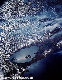 Lake Nicaragua from Space